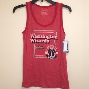 Majestic Tops - Washington Wizards Contrast Tank Top NWT L